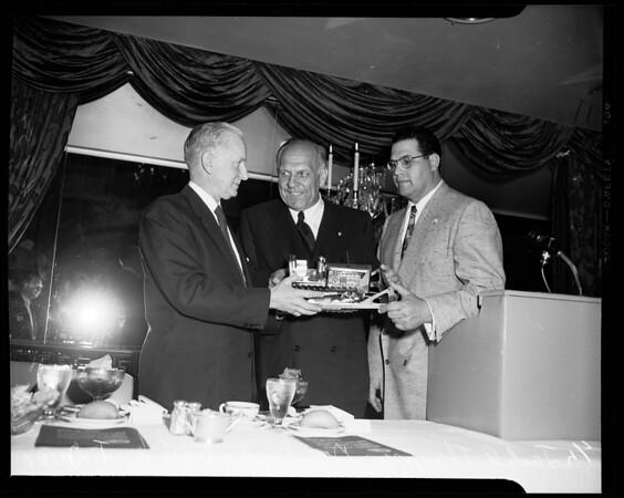 Knight Testimonial, 1954