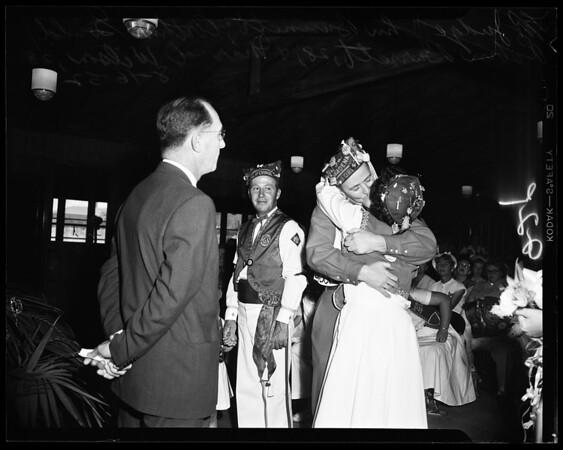 Veterans of Foreign Wars cootie wedding, 1952