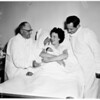 Physicians and Surgeon's 100,000th patient, 1954