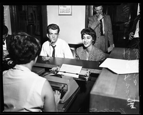 Lovers lane bandits (robbery), 1957
