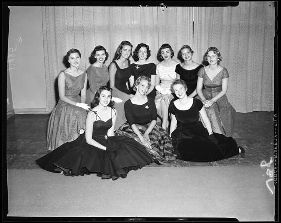 Helen of Troy queen contest, 1956