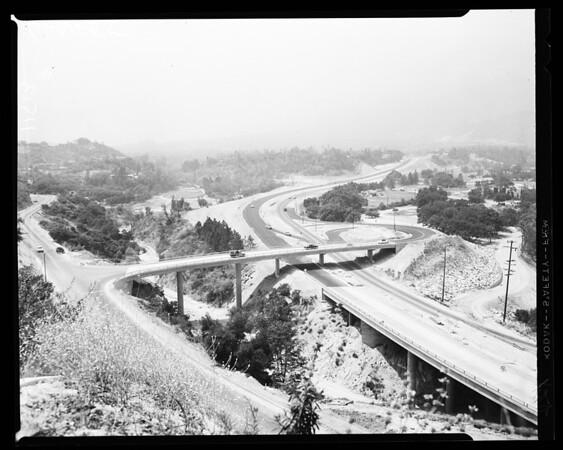 Foot Hill Freeway, 1955