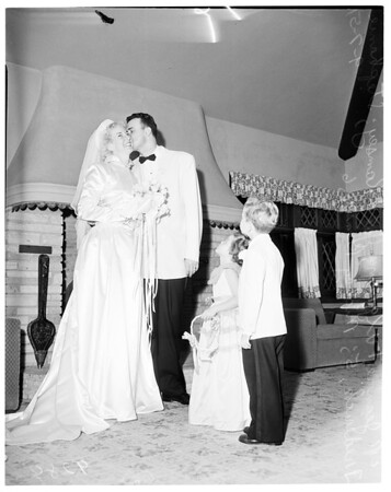 """Tip Toppers"" marriage, 1951"