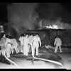 Fire at 1325 & 1333 South Santee Street, 1952