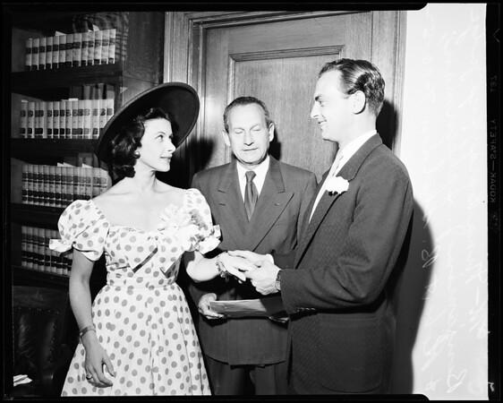 Bara wedding, 1952