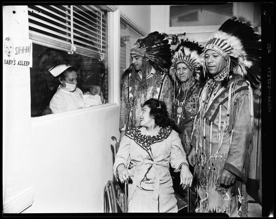 Indian Christening, 1954