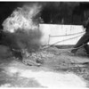 Fire in furniture shop, 6814 Lankershim Boulevard (Valley), 1952