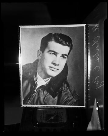 Air crash victim, 1954