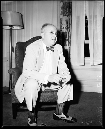 Interview with Governor John S. Fine (Pennsylvania), 1952