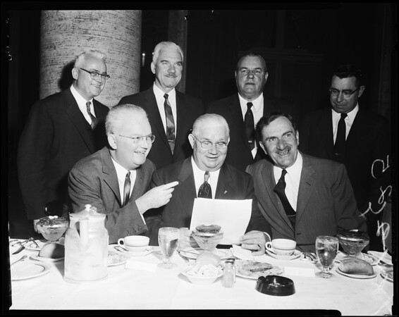 Congressional Hiway Committee Banquet, 1957