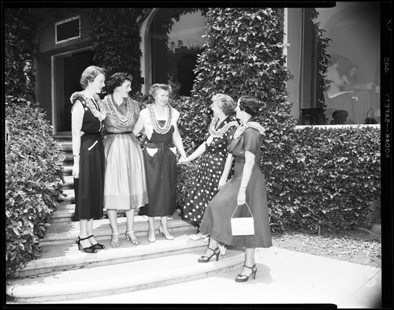 Sigma Kappa Convention at Huntington Hotel, 1952