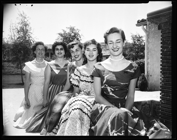 Pierce College Queen, 1954