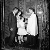 Coleen Gray kid baptized, 1954