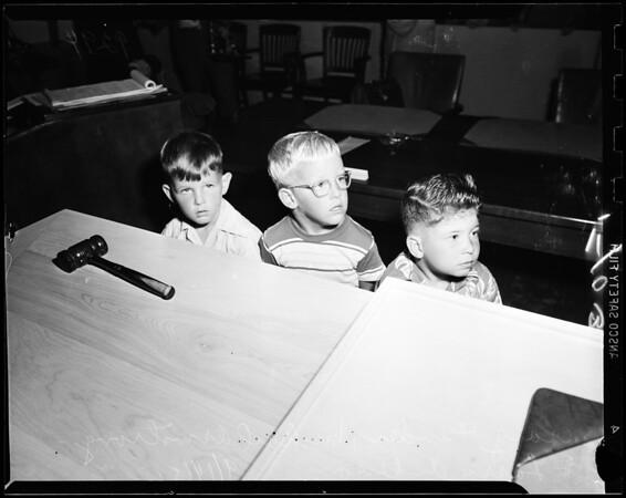 Civil damage suit, 1951