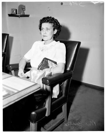Paternity suit, 1951