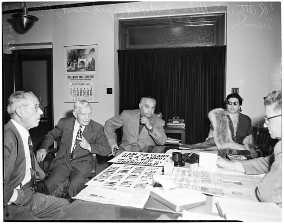 Disturbing the peace complaint, 1951