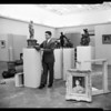 Renoir at County Museum (art exhibit), 1955