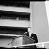 Osteopathic Hospital dedication, 1958