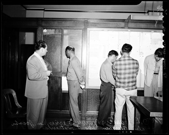 Attempt robbery failed, 1952
