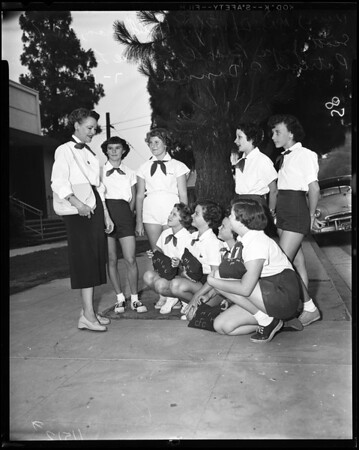 Camp Fire Girl Award, 1955