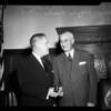 Beverly Hills mayor, 1954
