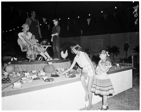 Hemet Fair, 1954