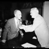 Judge Fricke gets 25 year pin, 1952