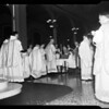 Holy Thursday at St. Vibiana's, 1954