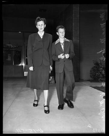 Arson, 1954