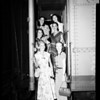 Ballet Theatre Troupe arrive at Union Station, 1952