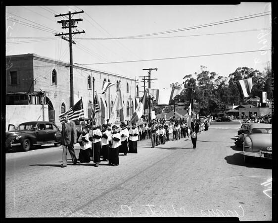Corpus Christi procession, 1952