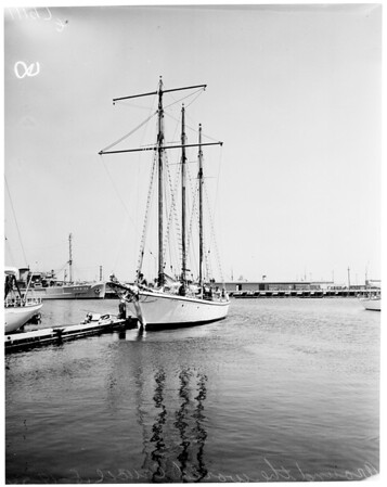 "Around the world Cruise (Yacht ""California""), 1954"
