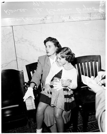 Attorney Sentence, 1954