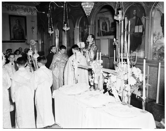 Greek Orthodox Church, 1951