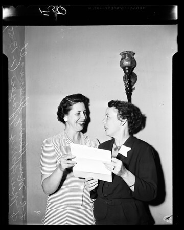 Camp Fire Girls Award, 1955