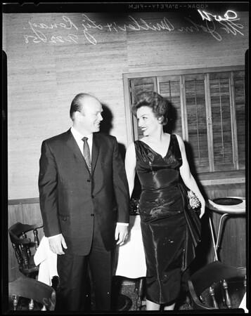 Liz Renay, 1958