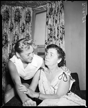Grandmother routs rapist, 1957
