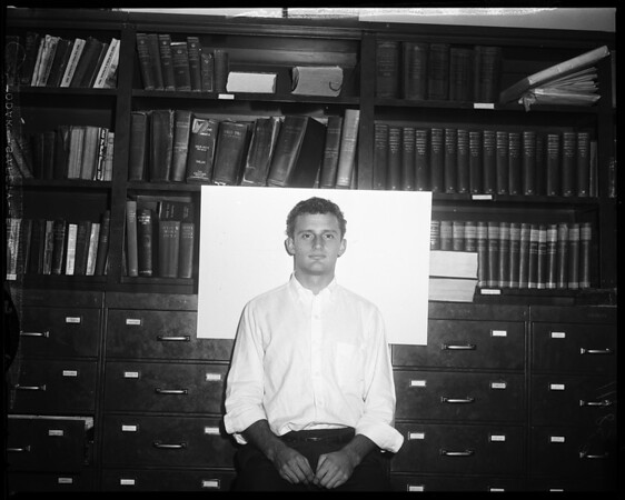 Fred Powers (Library Employee of Examiner), 1956