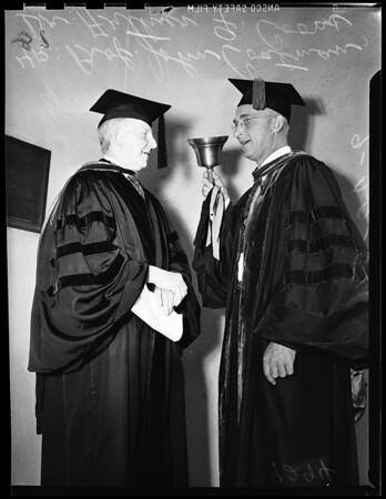 Occidental convocation, 1951
