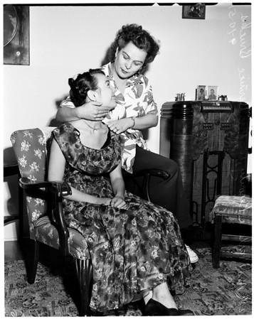 Freak shooting --- Pasadena, 1951