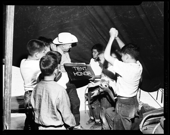 Saint Vincent De Paul Boy's Camp, 1956