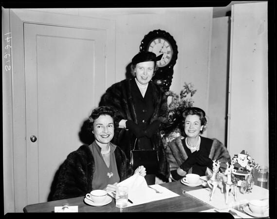 Assistance league -- luncheon, 1957
