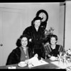 Assistance league -- luncheon, 1957