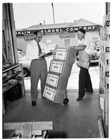 First Shipment of Polio Vaccine, 1955