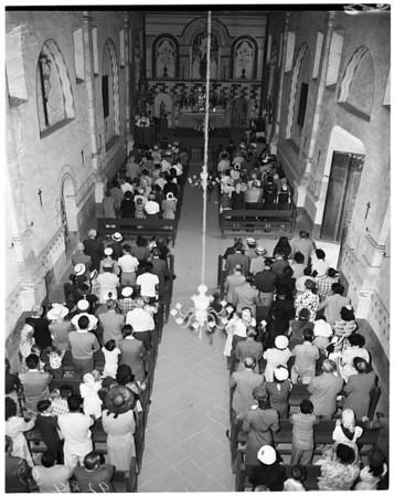 San Fernando Mission, 1951