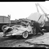 Auto accident Rivergrade Road and San Bernardino Road 3 boys killed, 1957