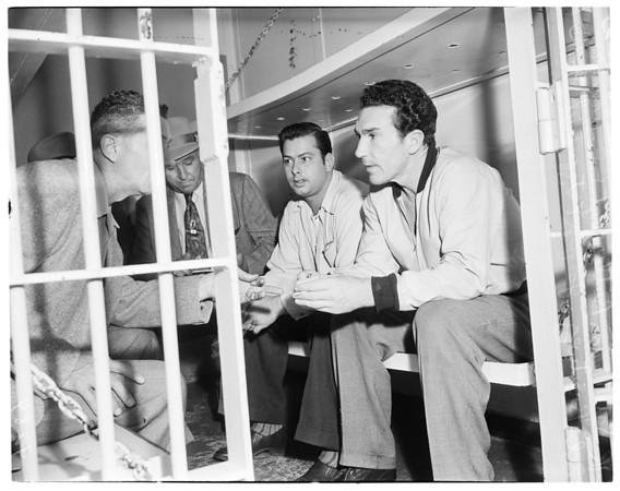 Robbery suspects, 1951