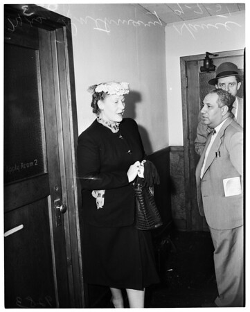 Nance will contest, 1951