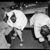 Marijuana raid... Central Jail, 1954