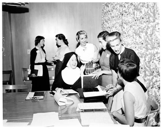 Tracy Clinic summer program, 1954